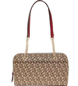 DKNY Brown Madison Satchel - £69.99 + free Click and Collect @ TK Maxx