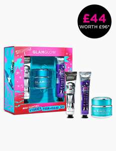 GLAMGLOW Winter Sale sets - 30% off + extra 15% for new accounts + free delivery