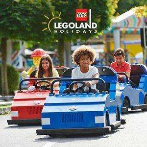 Two Days In The Park / 1 Night Hotel Stay / Parking & Breakfast From £121 (Days Inn Fleet) - 2 Adults & 2 Children @ Legoland