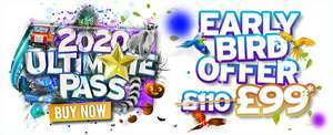 2020 ultimate pass early bird offer £99 at Drayton Manor Shop