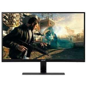 """Acer Nitro RG270 27"""" IPS FHD FreeSync 75Hz 1ms Gaming Monitor, £138.97 at Laptops direct"""
