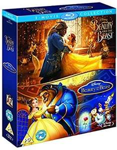 Disney beauty and the beast live and animated twin pack blu ray £10.19 @ Amazon prime (£2.99 p&p non prime)