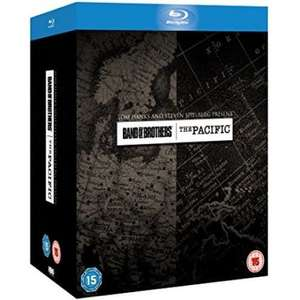 Band of brothers/the Pacific blu ray boxset £19.99 @ coolshop delivered