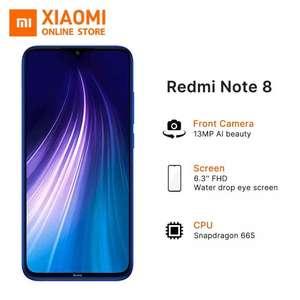 Global Version Xiaomi Redmi Note 8 128GB Smartphone Blue £127.11 @ Xiaomi Online Store/Aliexpress