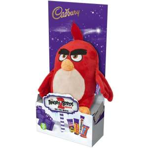 Cadbury Angry Birds Red Plush Toy 71.5g £0.99 + (£3.95 Delivery) @ Cadbury Gifts Direct
