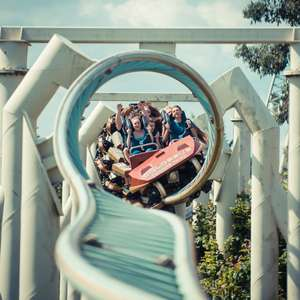 Two Days Thorpe Park + Overnight stay + breakfast + free parking from £87 for 2 people / £130 for 2 adults & 2 children @ Thorpe Breaks