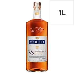 Martell vs cognac 1l £15.34 @ Tesco, Henley-on-Thames (Oxfordshire) and Reading (Berkshire).