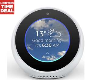 Amazon Echo Spot - White only £79.99 @ Currys PC World