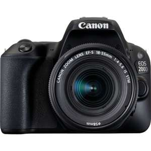 Canon EOS 200D Black kit with EF-S 18-55mm f/3.5-5.6 III Lens for £412 delivered @ Canon