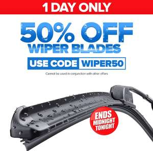 Wipers 50% off sale Euro Car Parts