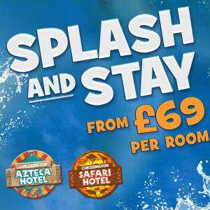 Family Hotel Stay inc. Savannah Splash Pool / Wanyama Village & Reserve / Chessington Resort Hotel stay / Breakfast from £69 @ Chesington