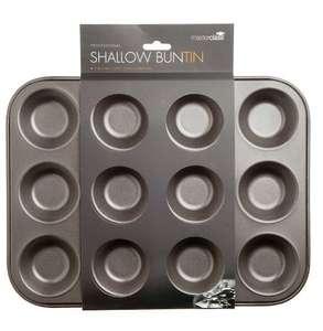 KitchenCraft MasterClass 12-Hole Non-Stick Mince Pie Baking Tray £2.97 (Prime) / £7.46 (non Prime) at Amazon