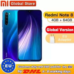 Global Version Xiaomi Redmi Note 8 4GB 64GB Snapdragon 665 £109.62 (£106 With Code OBING) @ Ali Express/ Mi Global Store