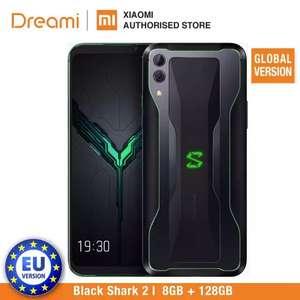 Global Version Xiaomi Black Shark 2 128GB Rom 8GB Ram Shadow Black £280.05 @ Xiaomi Dreami Authorised Store/Aliexpress