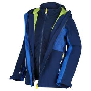 Regatta Kids' Hydrate IV Reflective Waterproof 3 in 1 Jacket £24.76 delivered @ Outdoor look