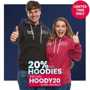 Help for Heroes 20% off All Hoodies with Code Prices From £12.80 / £16.75 Delivered