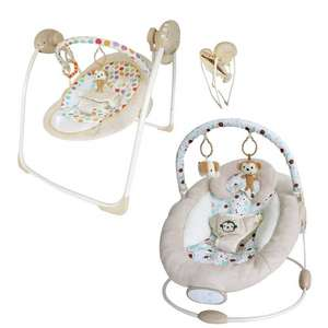 BeBe Style Rocker Cradling Musical Baby Swing - £39.99 / BeBe Style Comfiplus Floating Cradle - £29.99 + Free Delivery On Either @ Argos