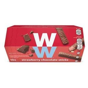 Weight Watchers Strawberry Chocolate Sticks, 10pk. 79p @ Heron Foods Abbey Hulton.