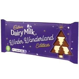 DAIRY MILK WINTER WONDERLAND EDITION 100G BAR (BOX OF 20) - £10 + £3.95 Delivery @ Cadbury Gifts Direct