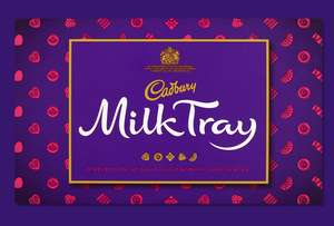 Cadburys milk tray 78g personalised £7.94 delivered @ Cadbury Gifts Direct