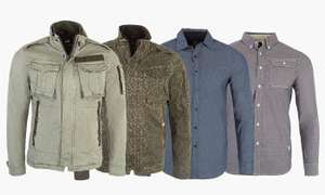 G-Star Raw Denim Men's Shirt from £6.69 + £1.99 delivery @ Groupon