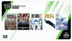 Astrologaster (PC) / Ace Combat 7: Skies Unknown, Kona (Console) The Surge 2/Bleeding Edge/Power Rangers (Console+PC) Coming to XB Game Pass