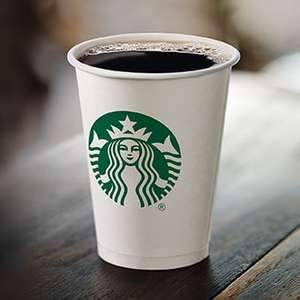 Free Starbucks filter coffee for NHS, Council and Emergency service staff. (National)