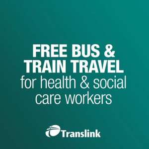 Free Public Transport for Health and Social Care Workers ( Northern Ireland) - Bus & Train Travel