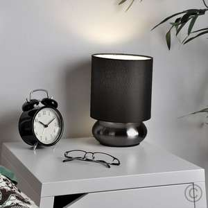 Pair of touch dimmable chrome lamps at Iconic Lights for £9 (£3.95 delivery) @ iconic lights