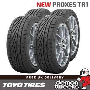 4 x Toyo TR1 195 50 15 82V Proxes High Performance Road Tyres + £25 Amazon voucher = £125.96 delivered @ Demon Tweeks