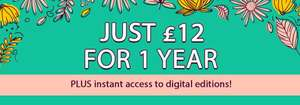 £12 for 1 Year Print & Digital Subscription Vogue/GQ/Tatler Etc at iSubscribe