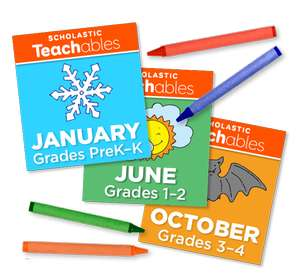 [Scholastic Teachables] 25000 Free Printable (Maths, Science, Reading, STEM) ,lesson plans, learning games + more for Pre-School - Year 6