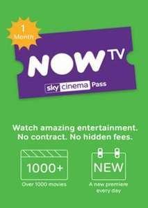 NOW TV - 1 Month Cinema Pass - £3.49 @ CDKeys