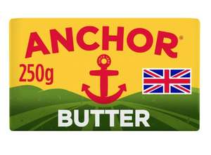 Anchor butter 250g £1.39 in store at Costco Wembley
