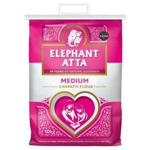 Elephant Atta Medium Chapatti Flour 10Kg £5 @ Tesco