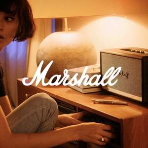 Up to 45% off Marshall speakers and headphones at Zalando Lounge