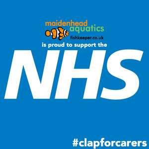 10% off for NHS workers at Maidenhead Aquatics