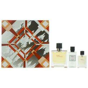 Hermes Terre D'Hermes Pure Perfume 75ml & 12.5ml, After-Shave Lotion 40ml Set £59.96 @ scentwarehouse Ebay