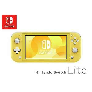 Nintendo Switch Lite Handheld Console by Nintendo - Yellow/Grey - £173.99 with code @ Lookagain