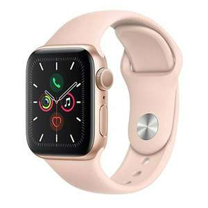 Apple Watch Series 5, 40mm, GPS 2019 - Gold Aluminium Case with Pink Sand Sport Band £364.15 @ Lookagain