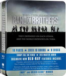 Band of Brothers Complete Series (Commemorative 6-Disc Gift Set in Tin Box) Blu-ray [Pre-owned] - £9.95 Delivered @ CeX