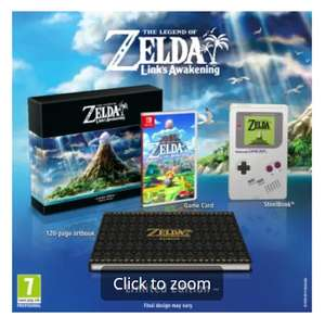The Legend Of Zelda: Link's Awakening Limited Edition (Nintendo Switch) - £64.98 Delviered @ Game