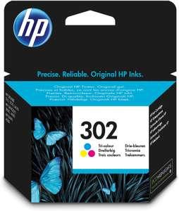 HP 302 Original Ink Cartridge, Tri-color, Pack of 1 - £14.35 (+£4.49 Non-Prime) @ Amazon