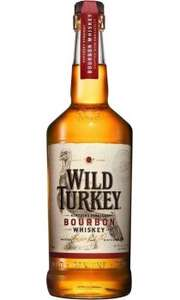 Wild Turkey Bourbon Whiskey 70cl £16 at Morrisons Carlisle, Cumbria