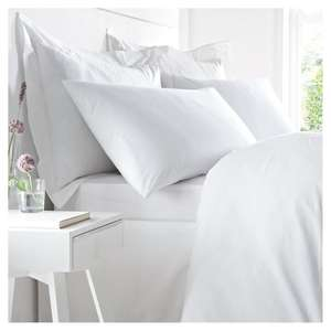 Half Price Bed Linen at Tesco - West Park Hotel Luxury Fitted Double £9, King £10, Superking £11, Pillowcase £5