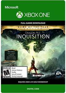 Xbox One / Download Code Dragon Age: Inquisition: Game of the Year £6.25 @ Amazon