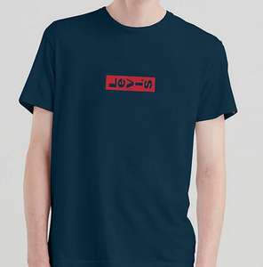 Levi's sale on Zalando Lounge - E.G Levi's Printed blue T-shirt £16.90 Delivered
