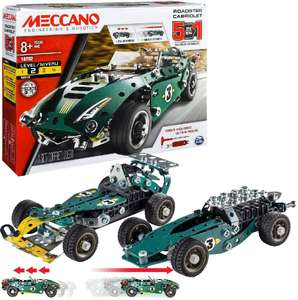 MECCANO 5 Model Set - Roadster W. Pull Back Motor 6040176 £11.25 (+ £4.49 NP) from Amazon