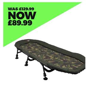 Advanta Discovery CCX Straight 6 Bed Superlite £89.99 @ Angling direct