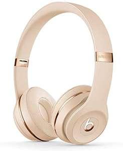 Beats Solo 3 Wireless On-Ear Headphones - Satin Gold - £99 @ Amazon
